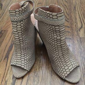 Joie open toe booties